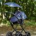 Зонт для коляски с раздвижным стержнем Аnex